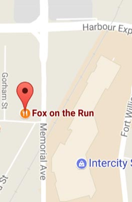 Fox on the Run - Memorial Location